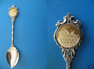 Primary image for SYDNEY Australia Souvenir Collector Spoon Collectible OPERA House