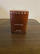 BVLGARI OMNIA WOMEN'S EAU DE PARFUM SPRAY 1.33  OZ / 40 ML NIB SEALED  - $47.00