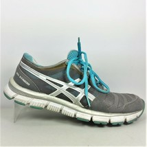 Asics Gel Sting33 Women Gray Silver Turquoise Athletic Shoes US Size 7.5... - $26.99