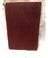 Joy To The World Songbook Shaped Note Edition 1915 Hope Publishing Company - $4.95