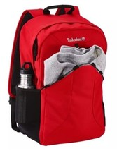 Timberland Crofton 28-Liter Water-Resistant Backpack A1M4M Red - $75.00