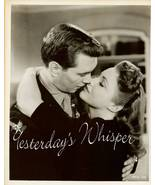 VINTAGE Movie PHOTO Robert HUTTON Joan LESLIE Kissing - $9.99