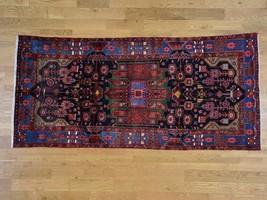 5'x10'4'' Persian Nahavand HandKnotted Pure Wool Wide Runner Rug G38022 - $611.82