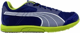 [185679 05] Men's Puma Bolt Faas 200 Mazarine Blue/White-Lime Punch Size 8 - $49.87