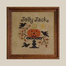 Jolly Jack halloween cross stitch chart All Through Night - $3.60