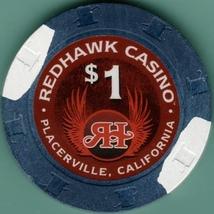 $1 Casino Chip. Redhawk, Placerville, CA. I59. - $4.29