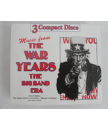 CD Music from The War Years The Big Band Era 3 CD Box Set 1996 - $15.99