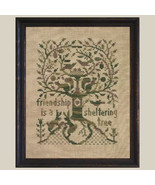 A Sheltering Tree cross stitch chart All Through Night - $7.20