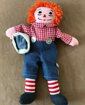 """Handmade Raggedy Andy doll 15"""" gingham sailor hat - $21.50"""