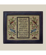 Use What Talents You Possess cross stitch chart All Through Night - $7.20