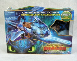 How To Train Your Dragon The Hidden World Giant Fire Breathing Toothless Figure - $39.59