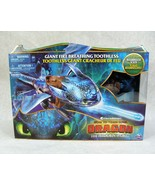 HOW TO TRAIN YOUR DRAGON THE HIDDEN WORLD GIANT FIRE BREATHING TOOTHLESS... - $39.59
