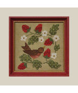In The Berry Patch cross stitch chart All Through Night - $3.60