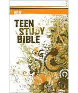 NIV TEEN STUDY BIBLE (2008) HARDCOVER - $19.27