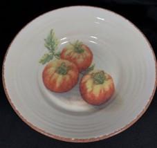 "Williams Sonoma JARDIN POTAGER 9 7/8"" Pasta Bowl Serving Dish Tomatoes I... - $54.40"