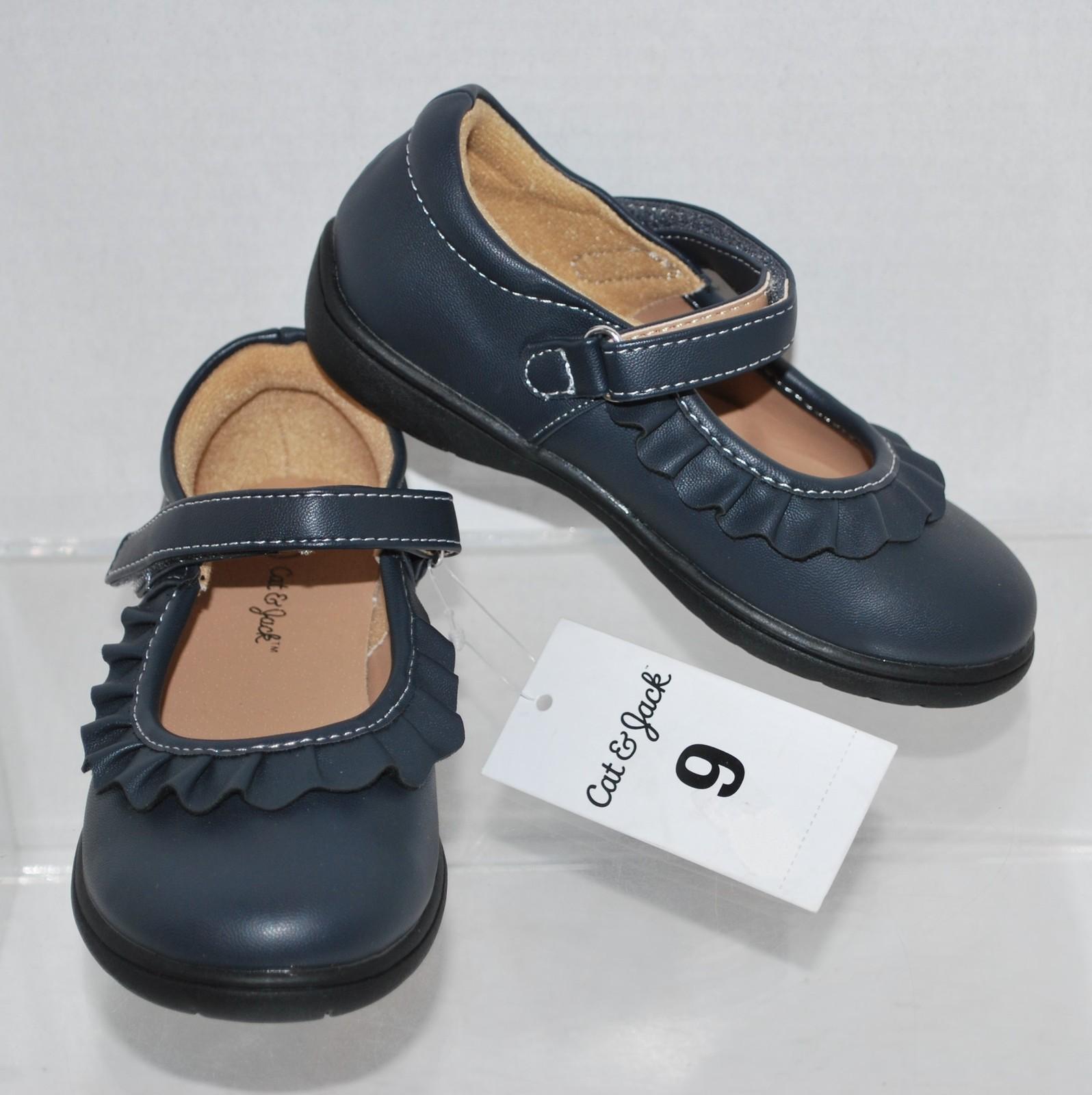 premium selection 8c14f 3fae9 Toddler Girls  Dottie Black Mary Jane Shoes - Cat   Jack - Size 9
