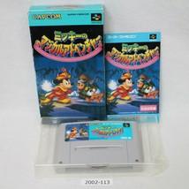Nintendo Snes Mickey Magischer Abenteuer Verpackt Aktiv Sfc Spiele 2002-113 - $24.24