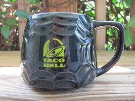 "Taco Bell~Spider Web~Black~Halloween~3¾"" Coffee Mug - $24.18"