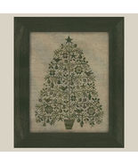 Oh Christmas Tree cross stitch chart All Through The Night - $7.20