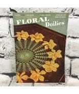 Floral Doilies Clarks Pattern Book No. 258 The Spool Cotton Co Vintage 1949 - $19.79