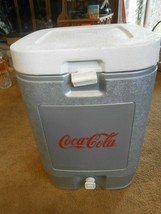 "Great COLEMAN ""Coca Cola"" KOOLER with Handles - $42.16"