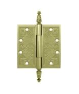 "Deltana DSBP45U3-UNL 4-1/2"" x 4-1/2"" Ornate Door Hinge Unlacq.Polished B... - $47.00"