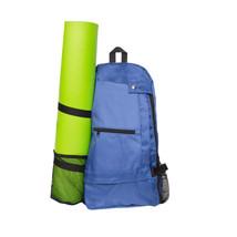 Waterproof Yoga Mat Carrier Bag Cross Body Sling Backpack Gym Sport Fitn... - $1.032,47 MXN