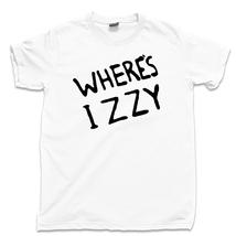 Where's Izzy T Shirt, Don't Cry 80s 90s Rock Guns N Roses Men's Cotton Tee Shirt - $13.99+