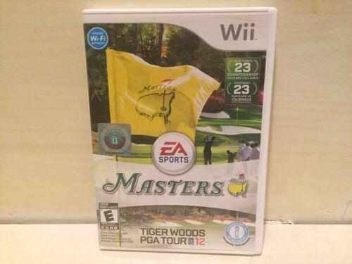 Tiger Woods PGA Tour 12: The Masters (Nintendo Wii, 2011) Complete