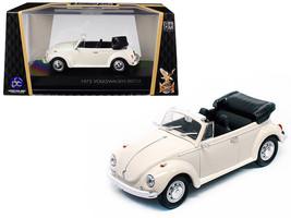 1972 Volkswagen Beetle Open Top Convertible Cream 1/43 Diecast Model Car by Road - $27.35
