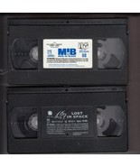"VHS WITHOUT JACKETS ""MEN IN BLACK"" 1997 CC ""LOST IN SPACE"" 130 MINUTES P... - $6.36"