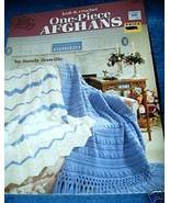 Knit & Crochet One Piece Afghans American School of Needlewo - $4.50