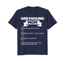 Greyhound Mom Checklist Funny Dog Lover Gift T-Shirt - $17.99+