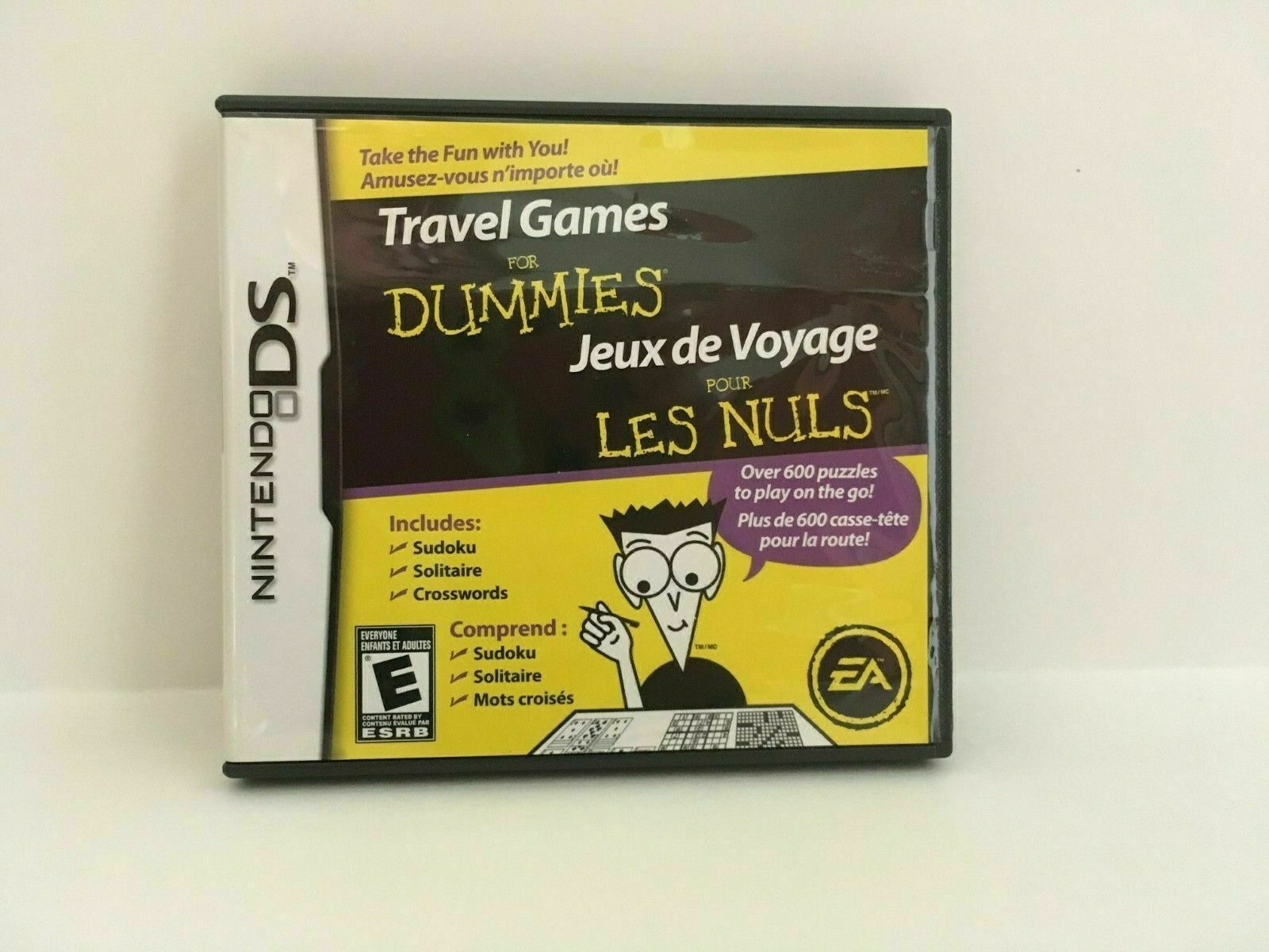 Travel Games For Dummies (Nintendo DS, 2008) CIB, USA SELLER image 2