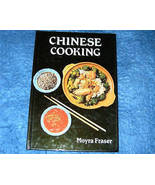 Chinese Cooking Cookbook by Moyra Fraser - $5.00