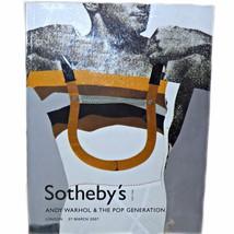 Sothebys 2007 Andy Warhol & The Pop Generation Hockney Lichtenstein Art ... - $45.99