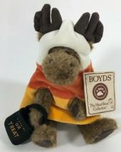 "Boyds Bears Corny Mooseltreat 8"" Moose #904342 LNWT 2004 Best Dressed He... - $20.56"