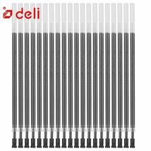 Deli® Pen 20pcs/lot 0.5mm Neutral Ink Gel Refills Set Korean Stationery ... - $8.07