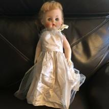 "1950's Soft Bodied Supermarket Bride Doll 24"" Horsman? Sleepy Eyes Roote... - $17.82"