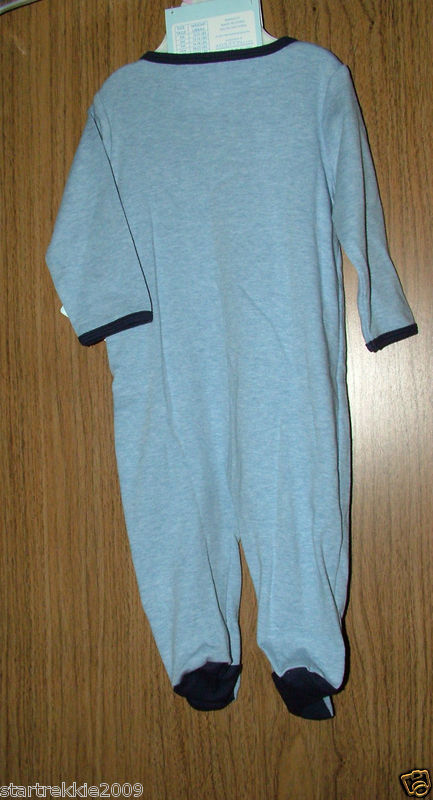 """Baby Essentials Baby Boys 2 Pc. Coverall Set """"Businessman""""Size 9 Months.NWT"""