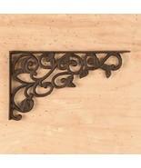 CAST IRON- Leaf / Shelf Bracket Set Of 2 - $17.81