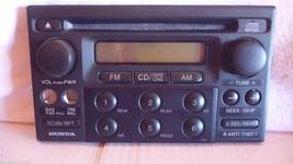 1998-04 Honda Accord CR-V Odyssey Cd Player Face Plate 39100-S84-A210 1XA1 - $9.70