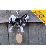 Alaskan Malamute Deluxe crate tag 2 sided hang anywhere, show dog agilit... - $35.00
