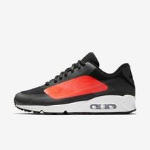 HOMME Nike Air Max 90 NS GPX Chaussures Noires Crimson AJ7182 003 Pdsf 150$ - $100.27