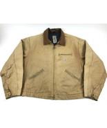 CARHARTT UJ01 - DUCK Detroit Blanket Lined Jacket Coat - USA Made - 52 R... - $68.31