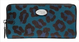 NWT COACH Animal Leopard Print Wallet Accordion... - $92.57