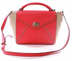 Kate Spade Laurel Wesley Ort Handtasche Umhängetasche Leder Pink M - $274.39
