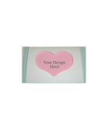 Heart Large Needlework Cards 5 per pack - $4.00