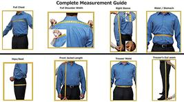 Royal Blue Black Peak Collar Mens Slimfit Tuxedo image 4