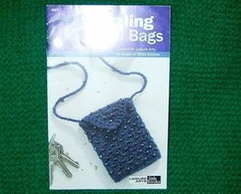 Leisure Arts Little Books, Dazzling Mini Bags to  Knit - $3.00